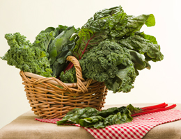 Get greens! Harness this hue for veggie power
